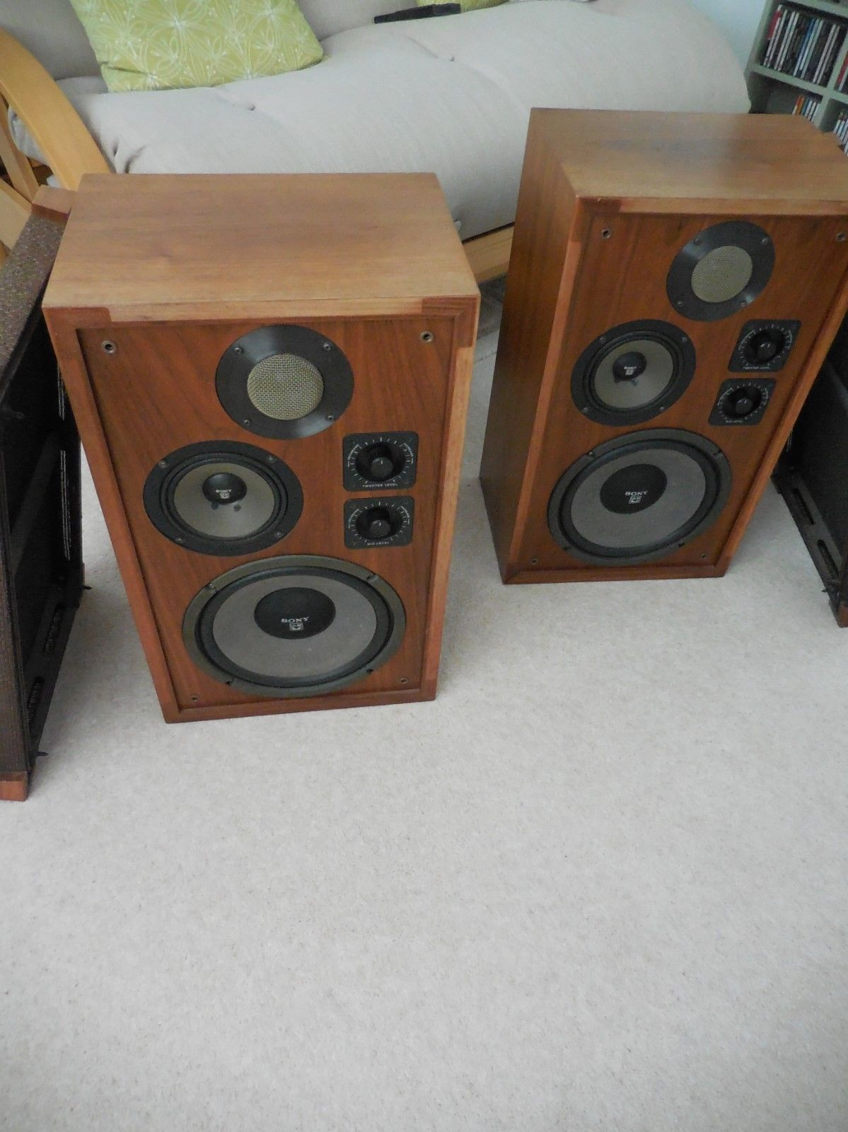 Sony SS-7200 Ultra Linear Magnetic Speakers High End 70s | Sony ...