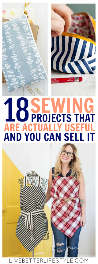 18 Useful Sewing Projects That Are Surprisingly Easy To Make #beginnersewingprojects
