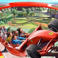 Roller Coaster Ferrari World Abu Dhabi Ferrari World Dubai Tour