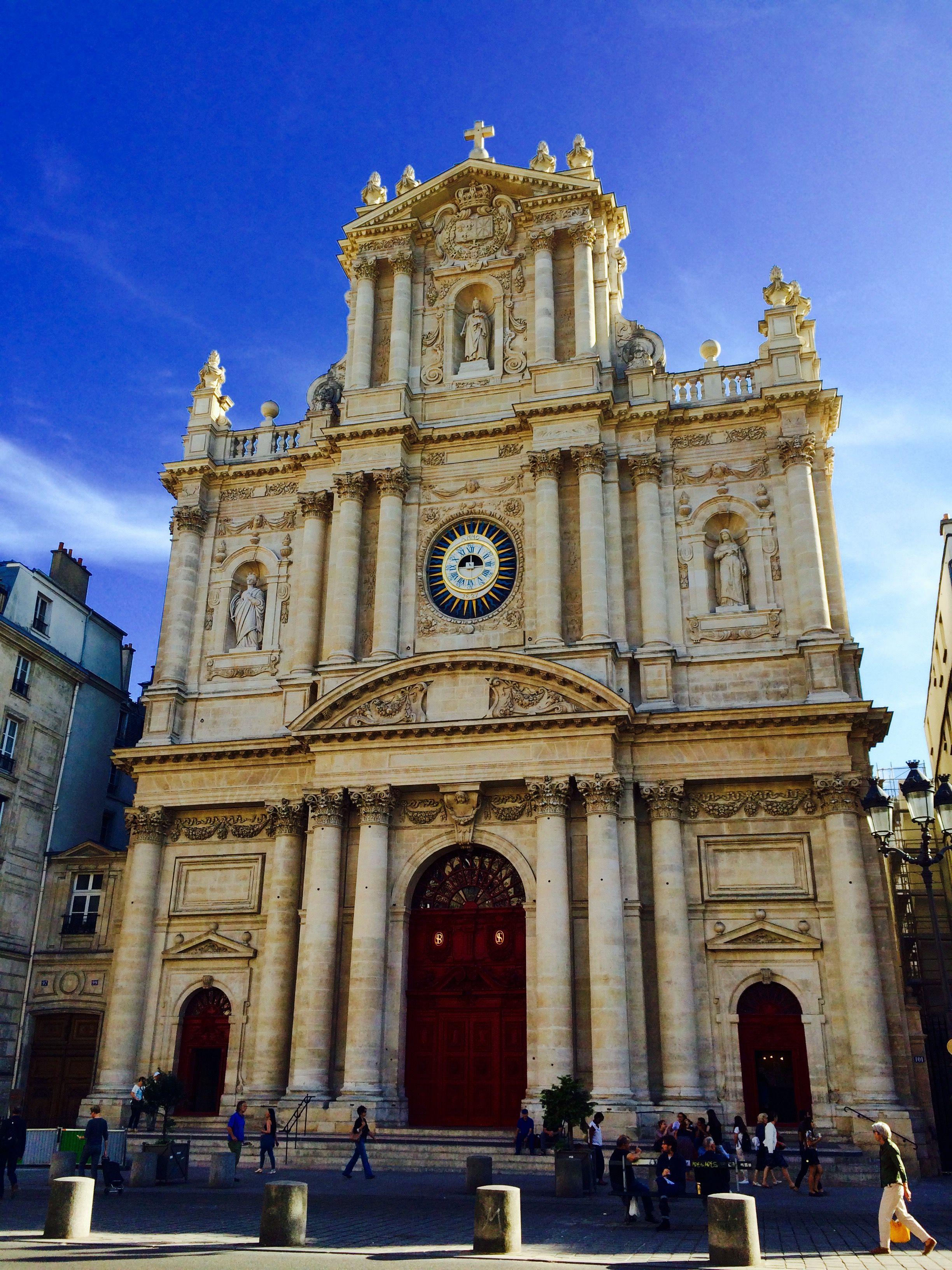 Église saint paul saint louis 4th arrondissement paris france