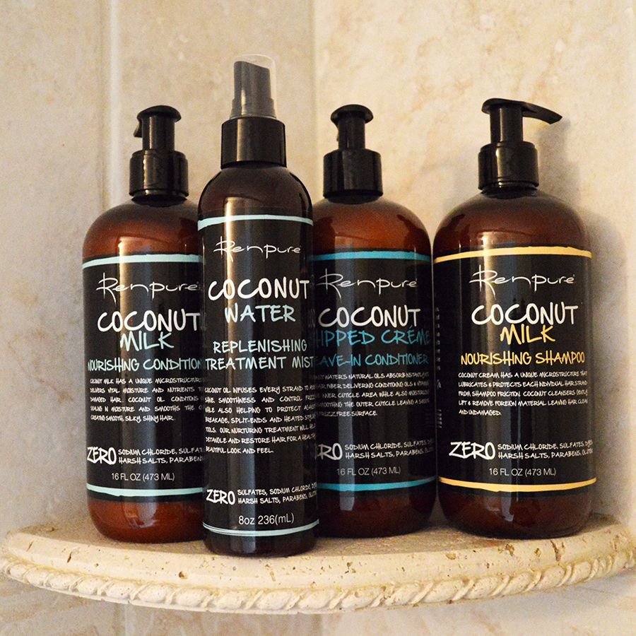 Love This Hair Care Line Click Through For Review Renpure Haircare Beauty Coconut Coconut Hair Hair Shampoo Conditioner Hair Care