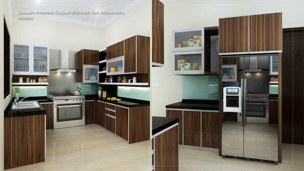 desain interior dapur kitchen set minimalis home design rh pinterest com