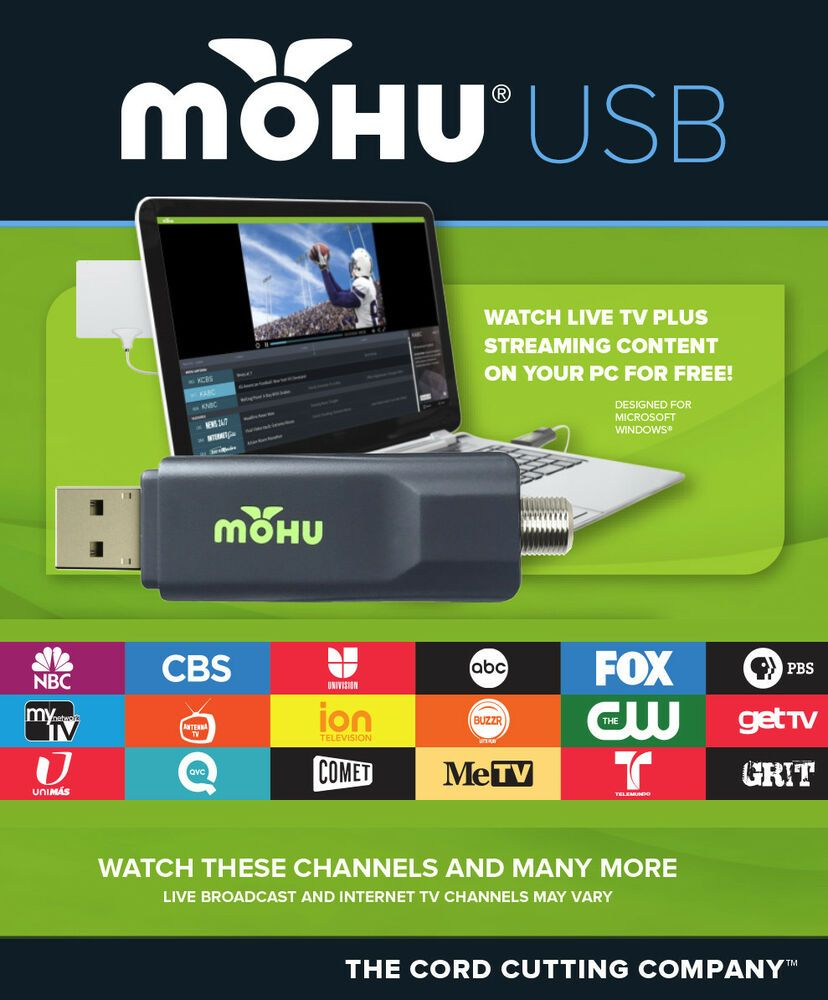 Mohu is selling USB TV Tuners (ATSC) on ebay for as little