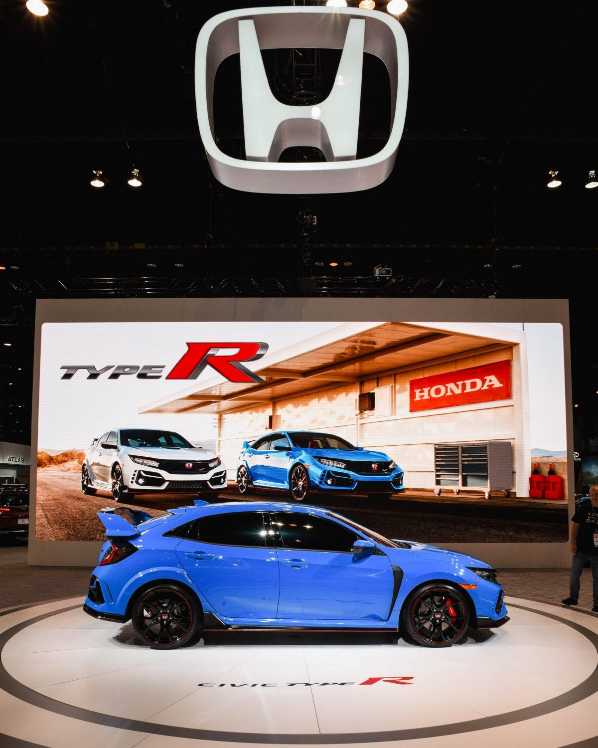 2020 Honda Civic Type R at the Chicago Auto Show in 2020