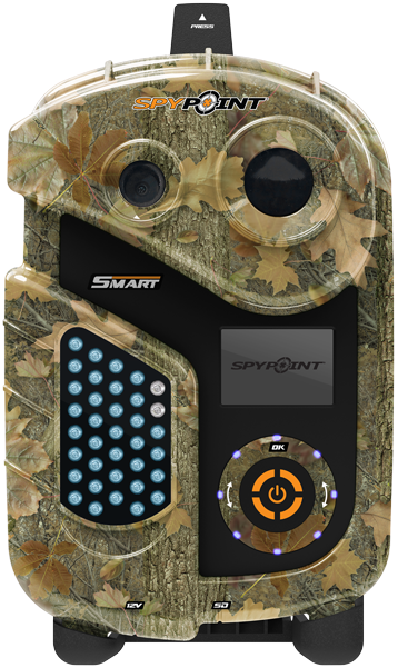 SPYPOINT® Intelligent trail camera. These are great and
