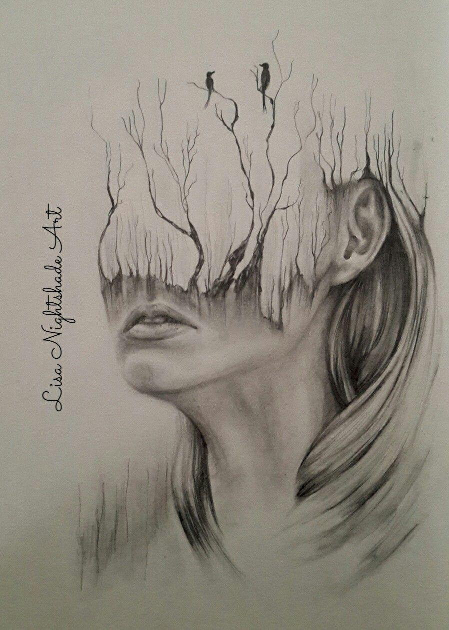 Dreams and disintegration pencil drawing realistic eye drawing drawing tips drawing ideas face