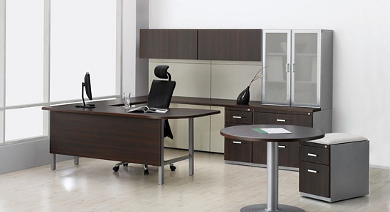 Muebles de oficina modernos idea creativa della casa e for Muebles de interior modernos