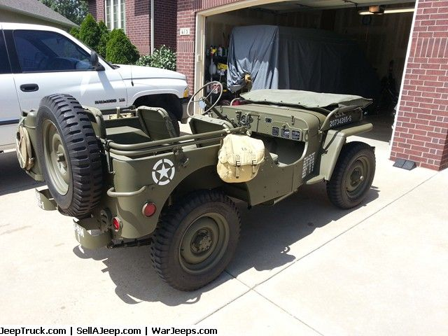1945 Ford Gpw Wwii Jeep Parts For Sale Used Jeep Jeep Parts