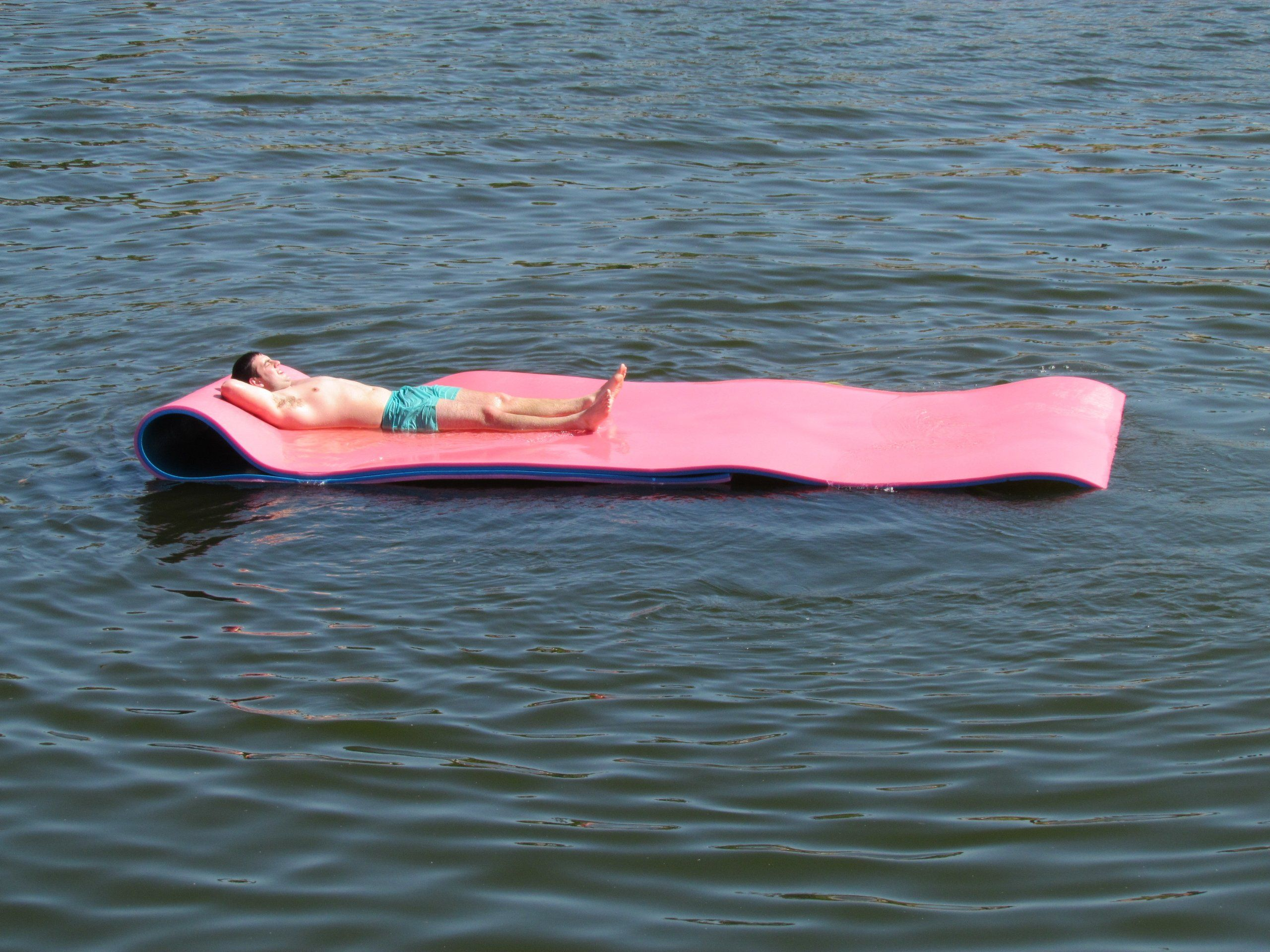 Amazon iFloats 18 Foot Water Pad Party Float with High