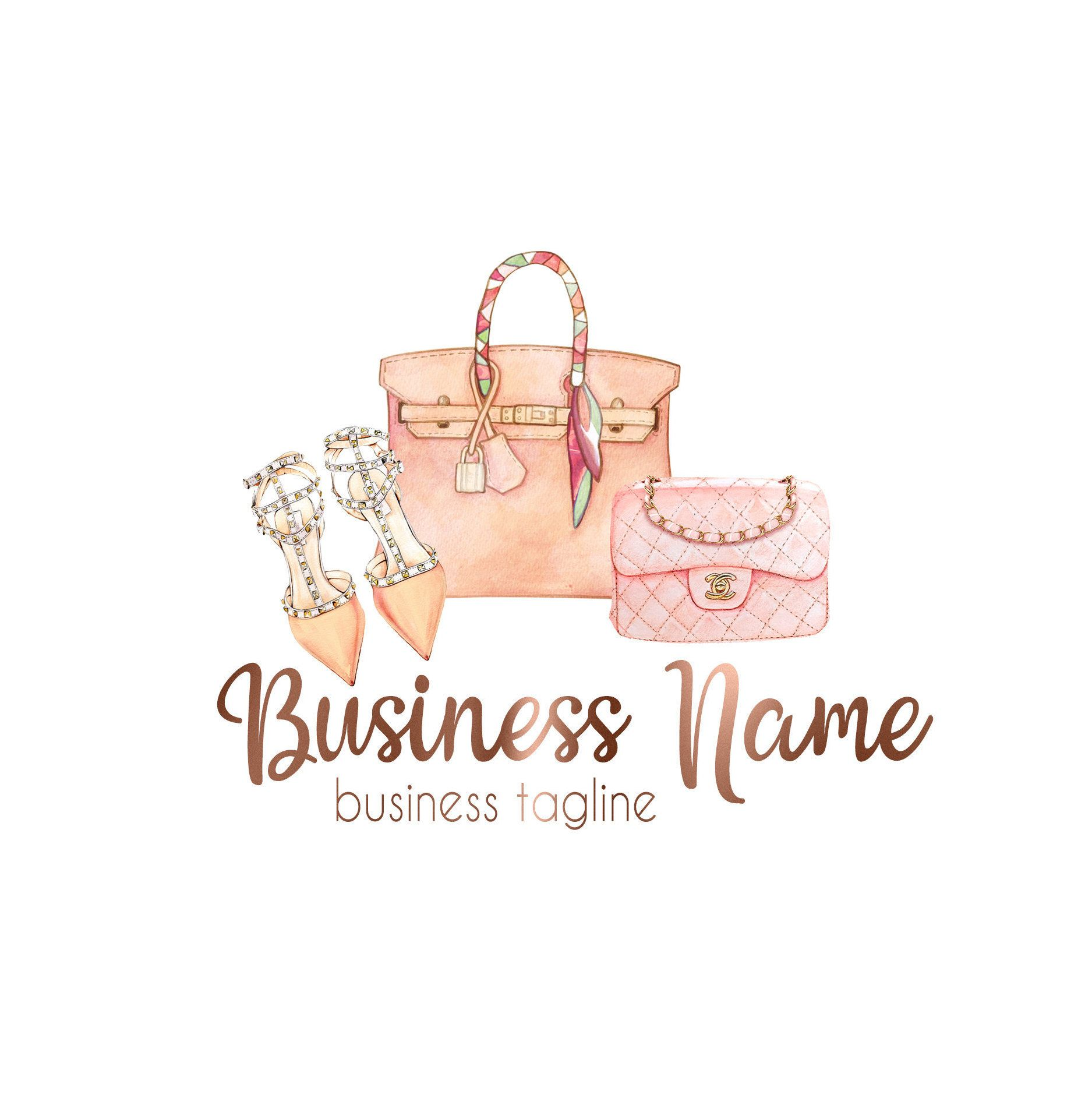Fashion Logo, Boutique Logo, Logo Fashion, Stylist Logo