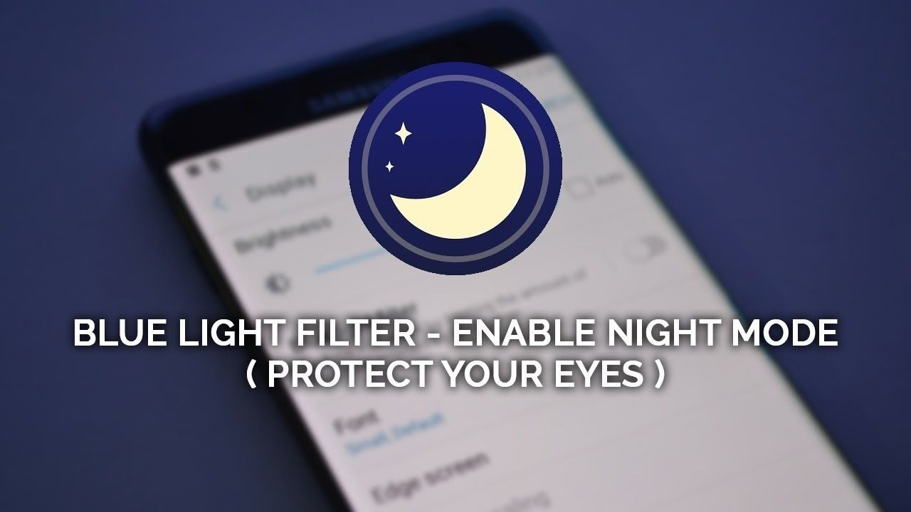 How to protect your eyes from screen blue light filter
