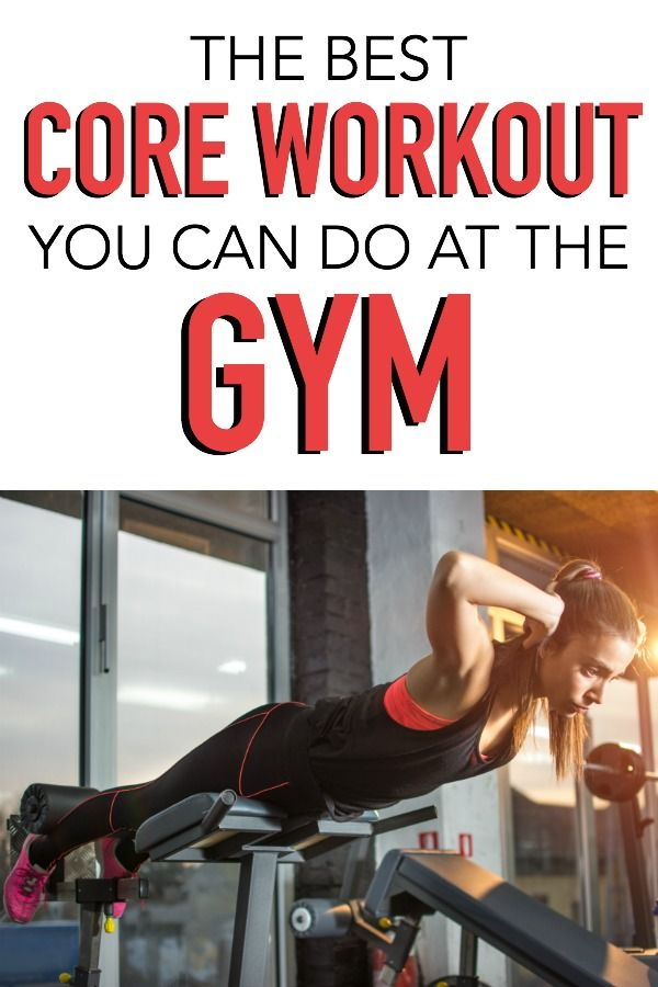 The BEST Core Workout for the Gym - this one left me so sore - it's so good! Tone-and-Tighten.com #coreworkouts