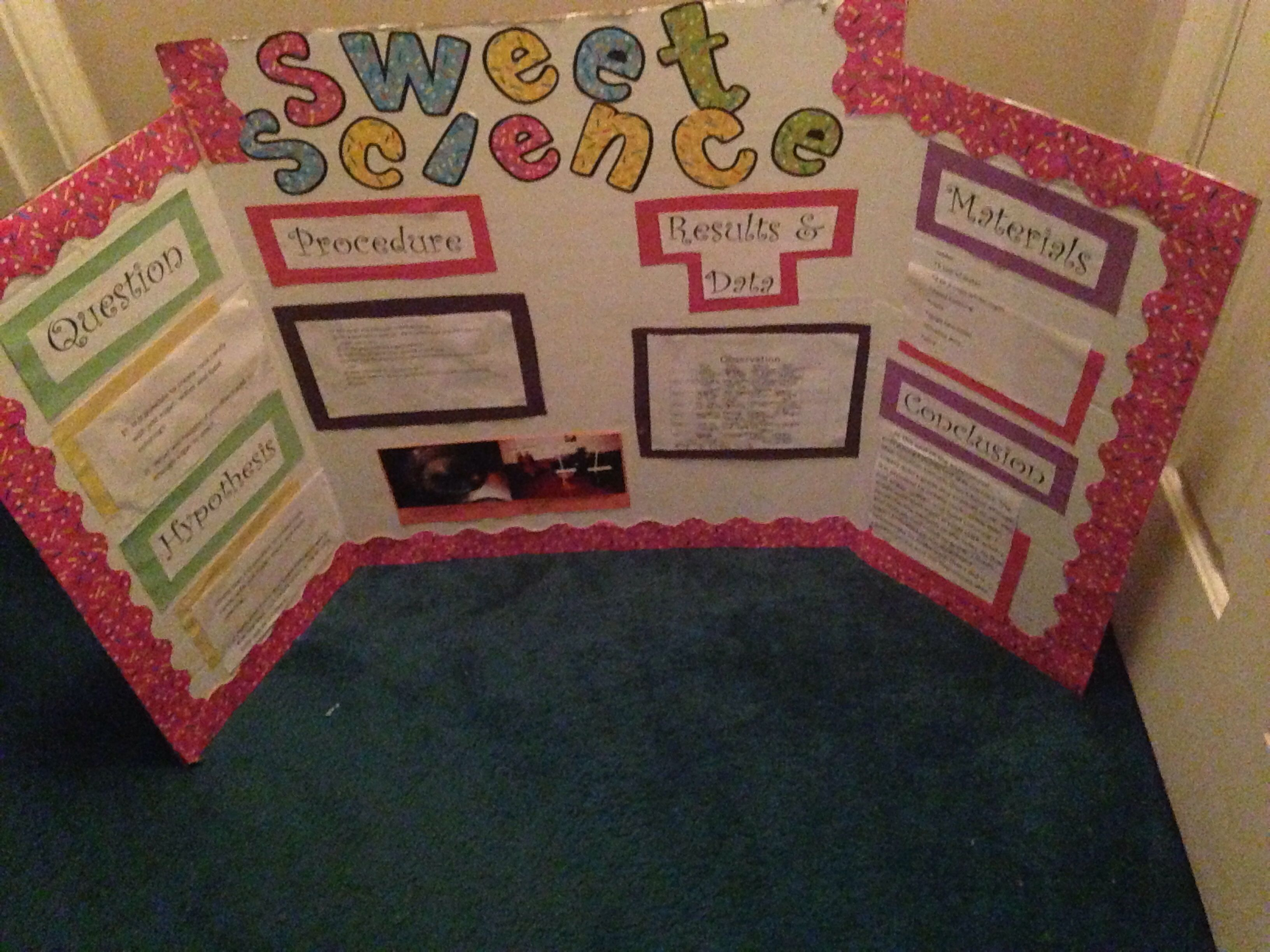 how to grow rock candy crystals science fair project