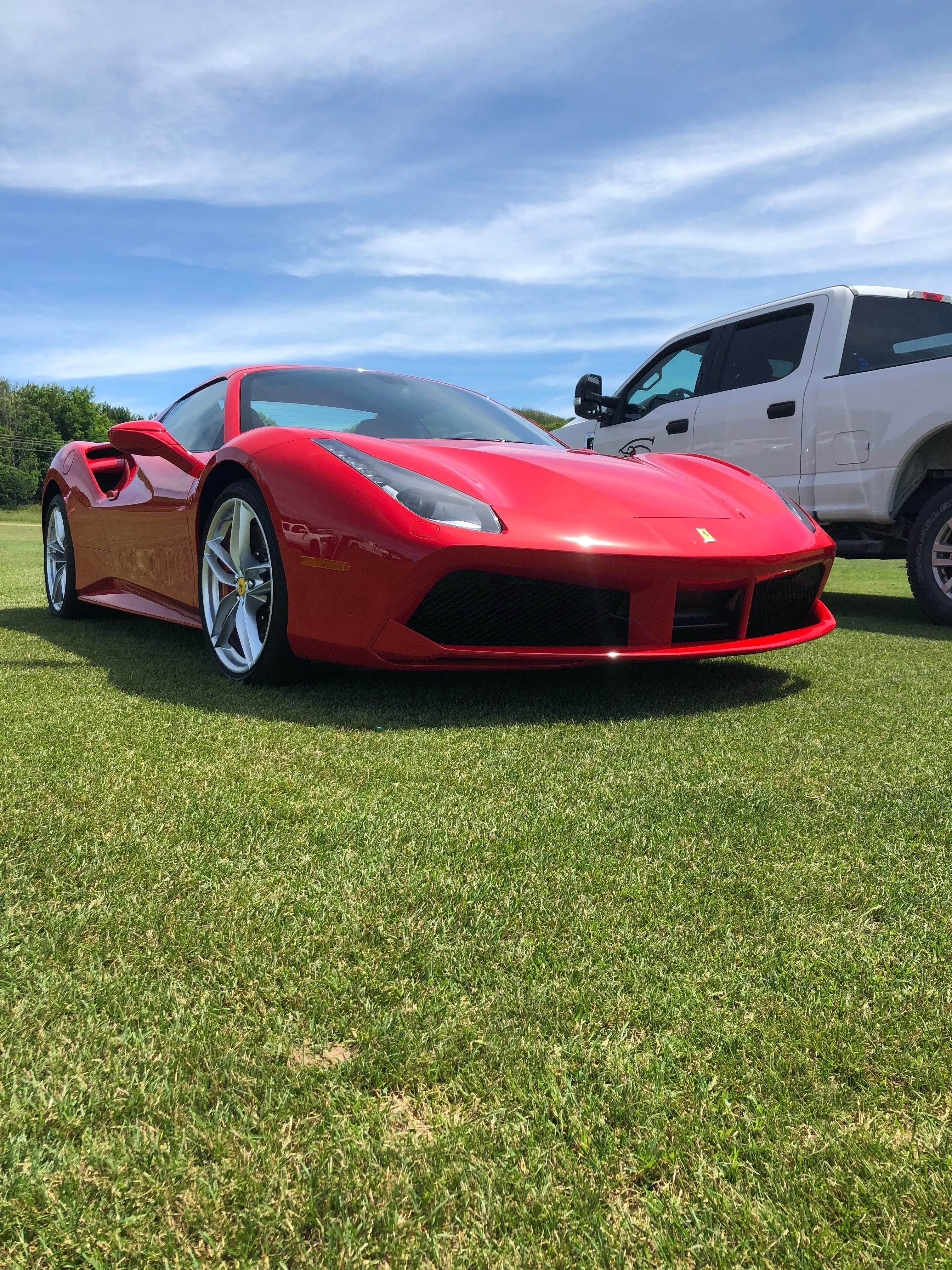 2020 Ferrari 488 Gtb Out In The Country Side In Northern Michigan With Images Ferrari 488 Ferrari