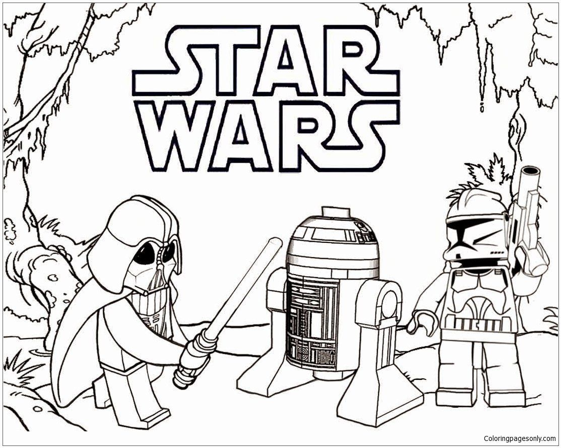 Lego Darth Vader Coloring Pages Inspirational Lego Darth Vader Coloring Page Free Coloring Pages Line Darth Vader Chewbacca Star Wars