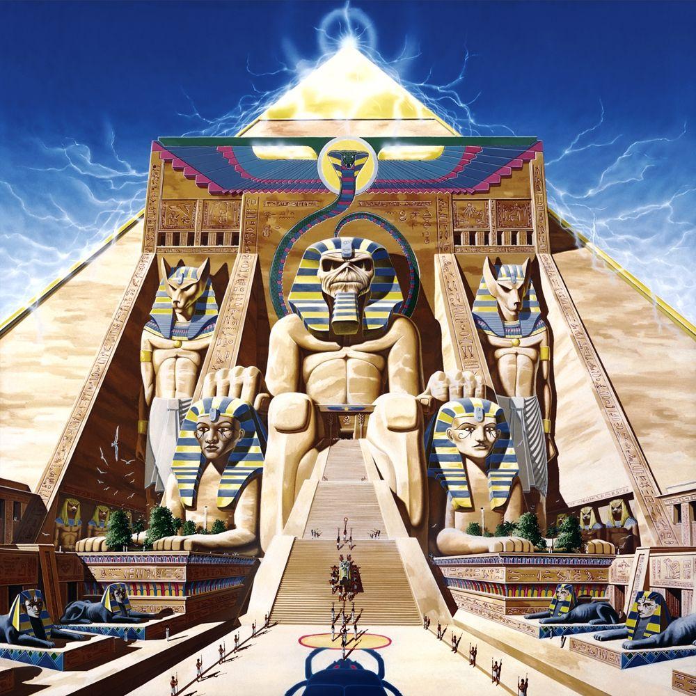 Iron Maiden - Powerslave - Derek Riggs 1984  -  http://www.derekriggs.com