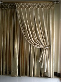 Beautiful Header On These Curtains Large Smocking Maybe In Bedroom You D Need Totally New Fabric I Think The Twill Have May Not Work