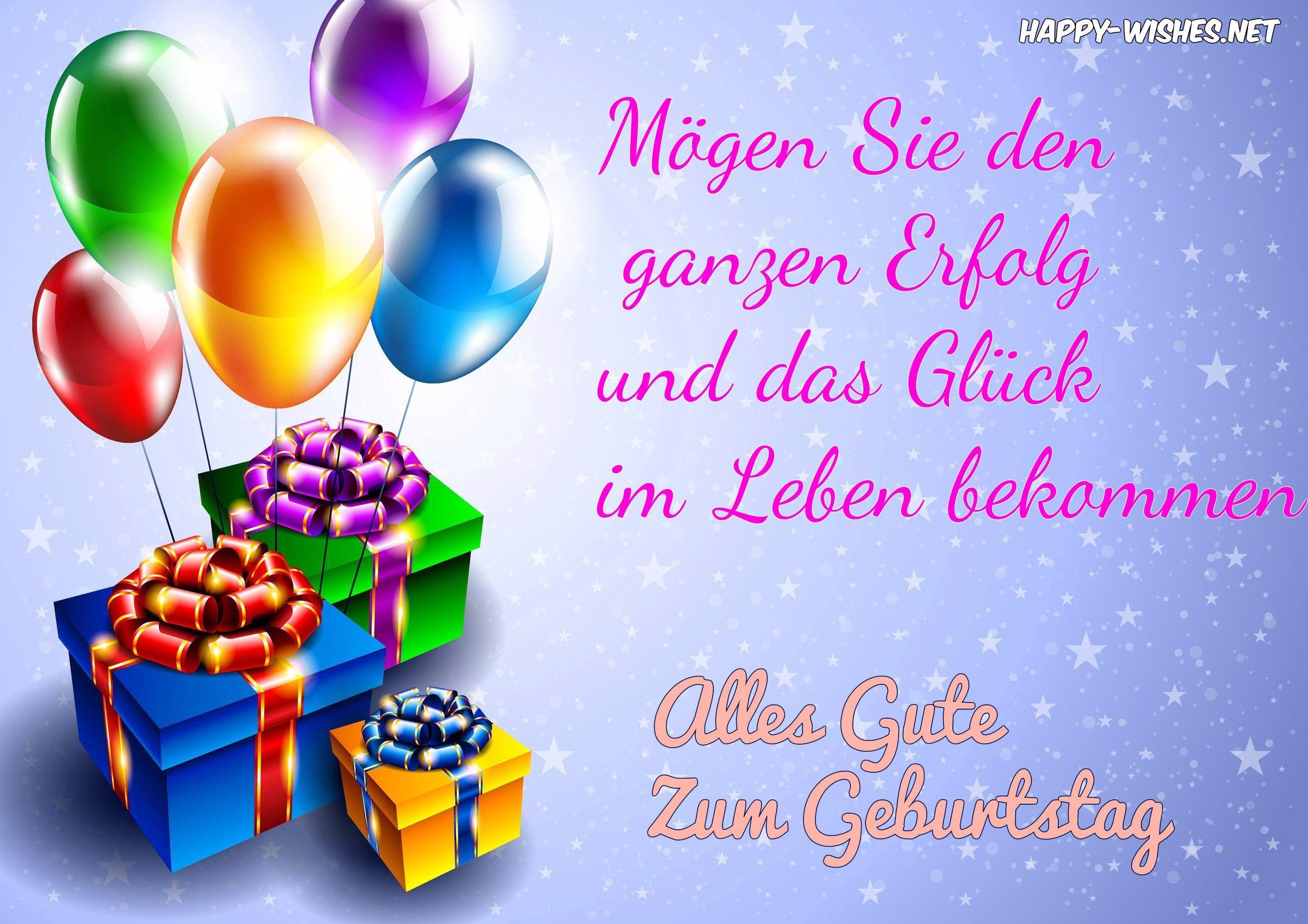 happy birthday wishes in german happy