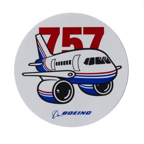757 pudgy plane sticker by manufactured for boeing 0 50 our old livery design pudgy
