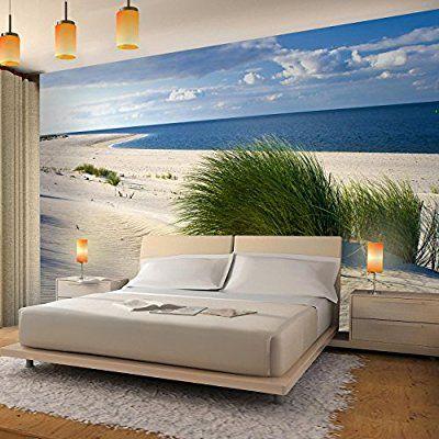 Fototapete Strand Meer Vlies Wand Tapete Wohnzimmer Schlafzimmer - moderne tapeten fr schlafzimmer