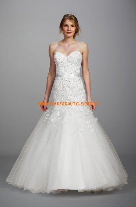 Liancarlo Süße Liebste Hochzeitskleider aus Softnetz