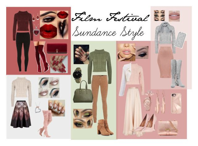 """""""Sundance Style"""" by hailey-hubak ❤ liked on Polyvore featuring WearAll, Lanvin, Topshop, Halston Heritage, Aspinal of London, Robert Lee Morris, Chanel, Vero Moda, MICHAEL Michael Kors and Rebecca Minkoff"""