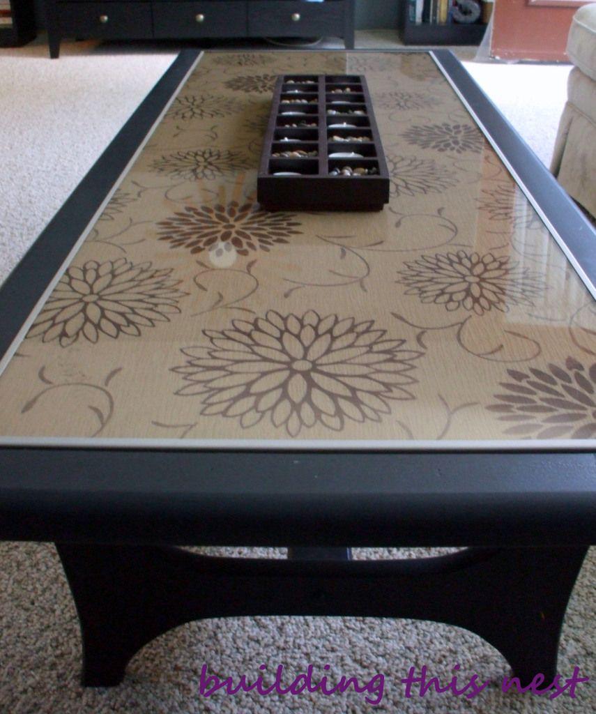 Coffee Table Makeover Coffee Table Makeover Table Makeover Glass Coffee Table Makeover [ 1024 x 855 Pixel ]