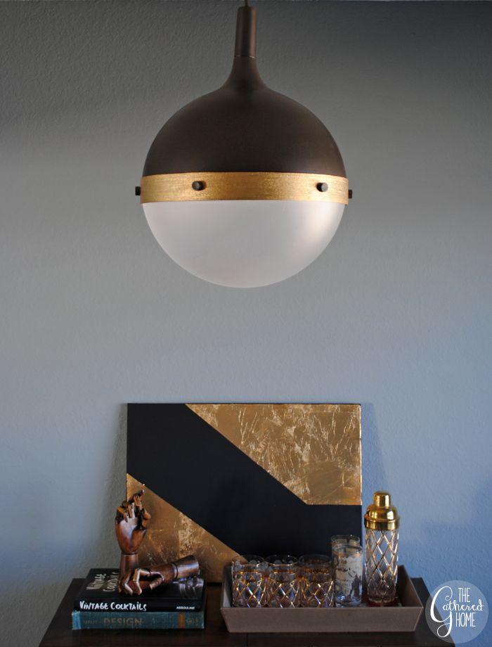 "DIY Ikea Hack ""Hicks"" Pendant Light The Gathered Home"