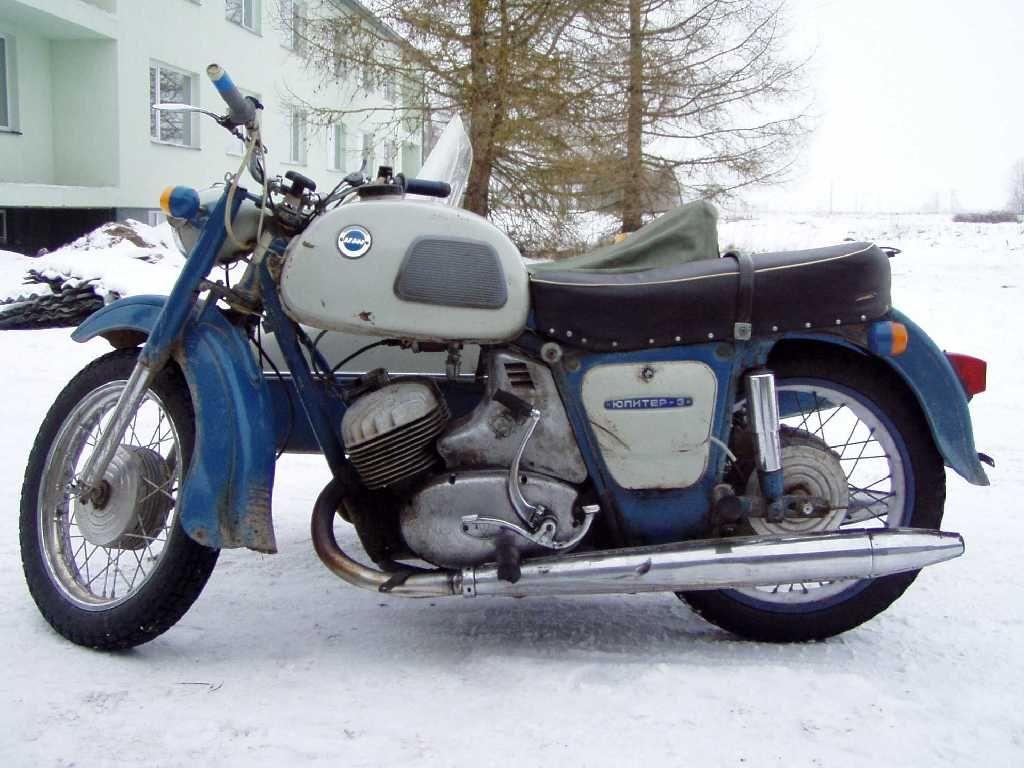 Restoration motorcycle IZH Jupiter-5 43