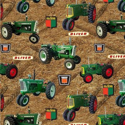 Farmall Tractors allover green-Christmas Stockings