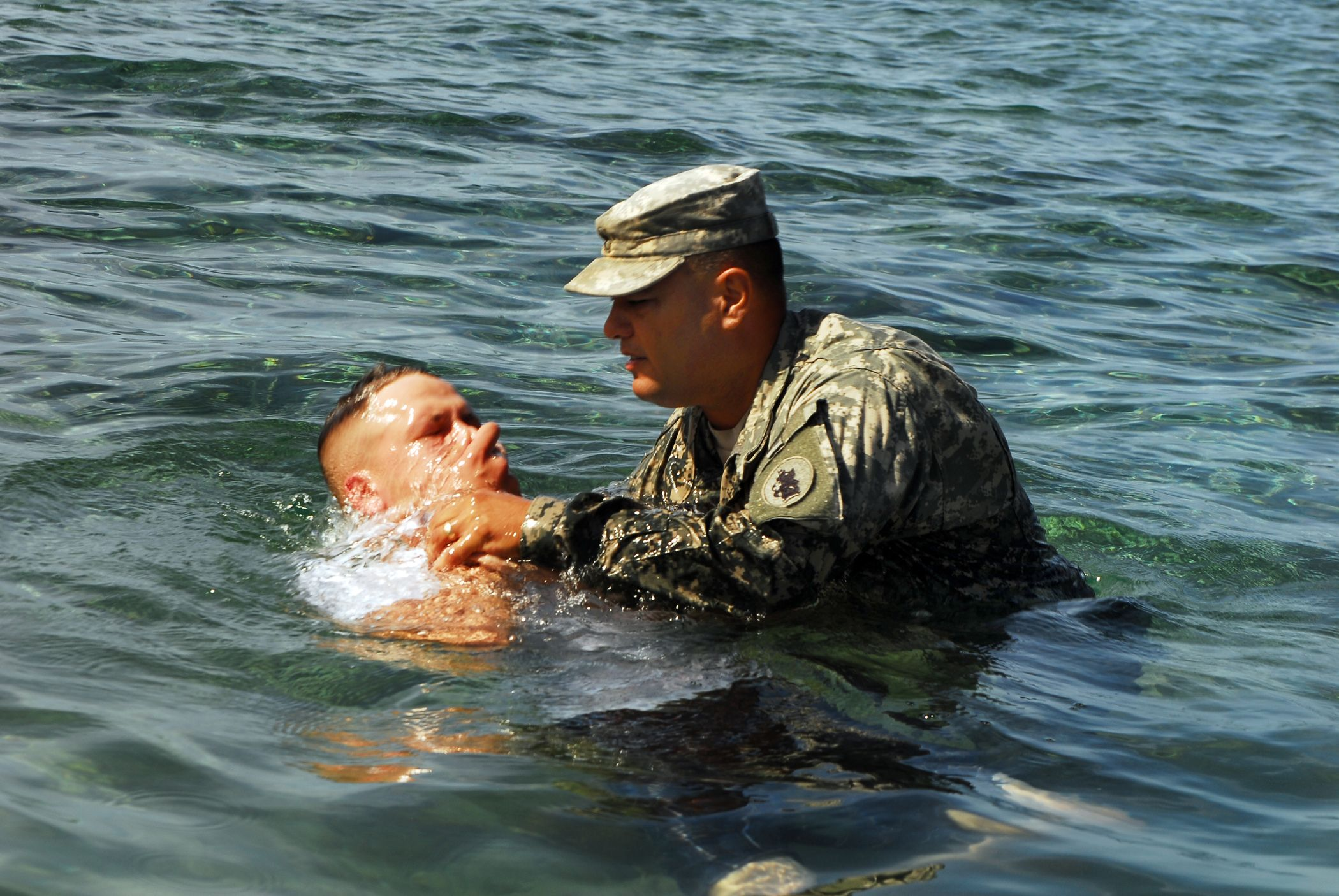 Guantanamo Bay Cuba Army Pfc Michael Donley A Service Member Deployed Here With The 525th Military Battalion Wade In The Water My Father S House Military