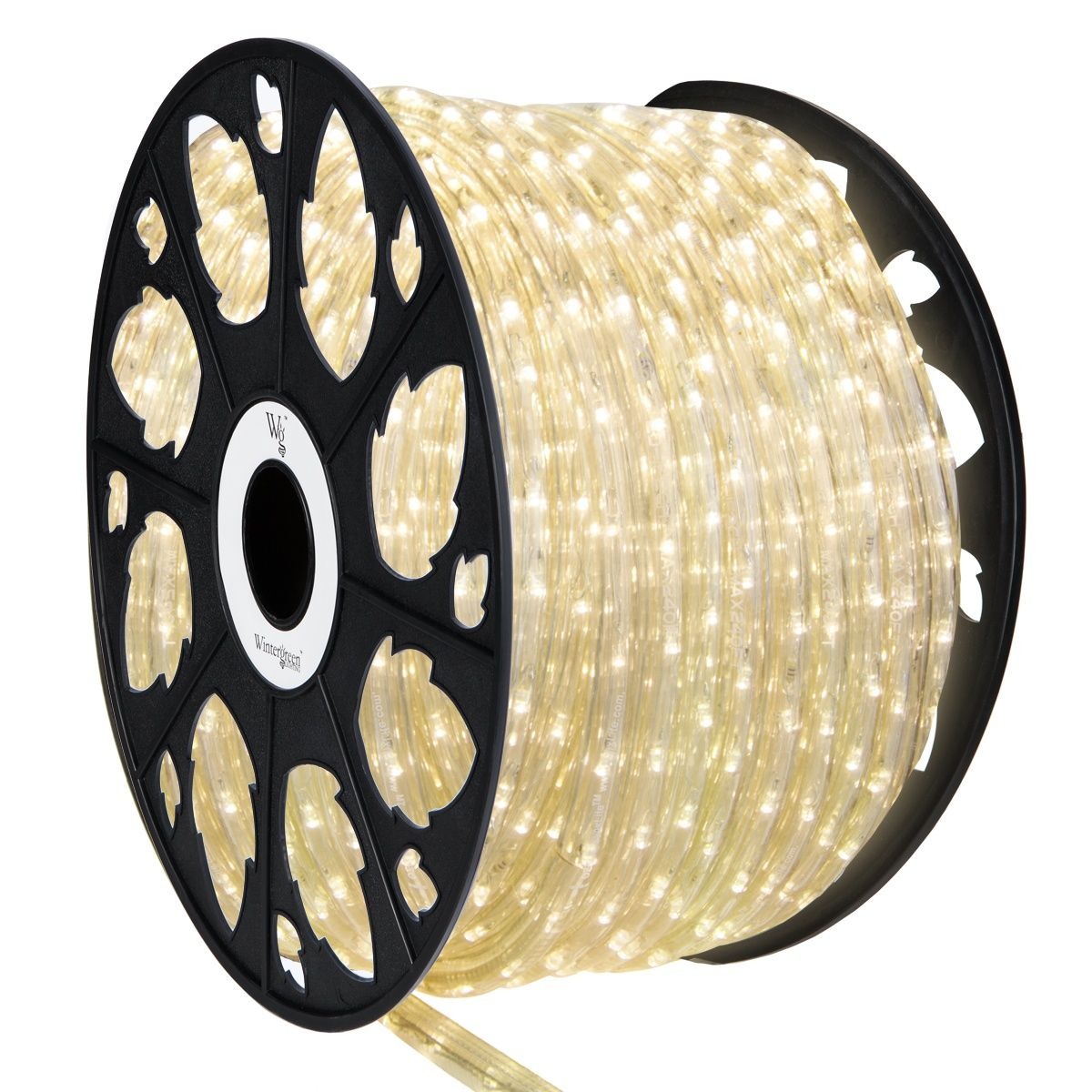 Led Rope Lights 150 Warm White Led Rope Light Commercial Spool 120 Volt Christmas Lights Etc Led Rope Lights Rope Light Led Rope