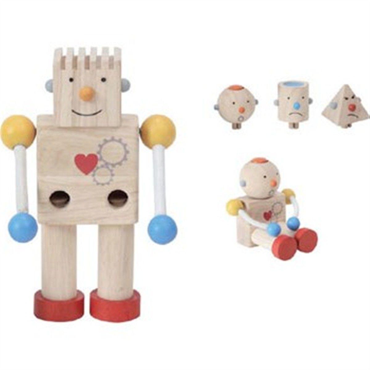 Robot De Juguete Construye Madera 27'60€Juguetes Pinterest Tu byfYvI76g