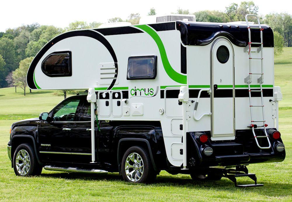 2016 Cirrus 800 Truck camper, Camper, Short bed truck camper