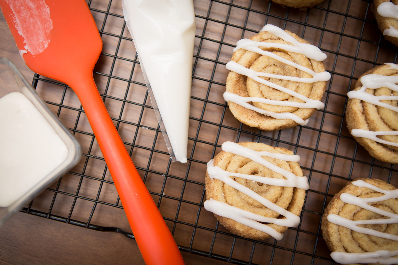Glutenfree Cinnamon Roll Cookies Vegan menu, Gluten