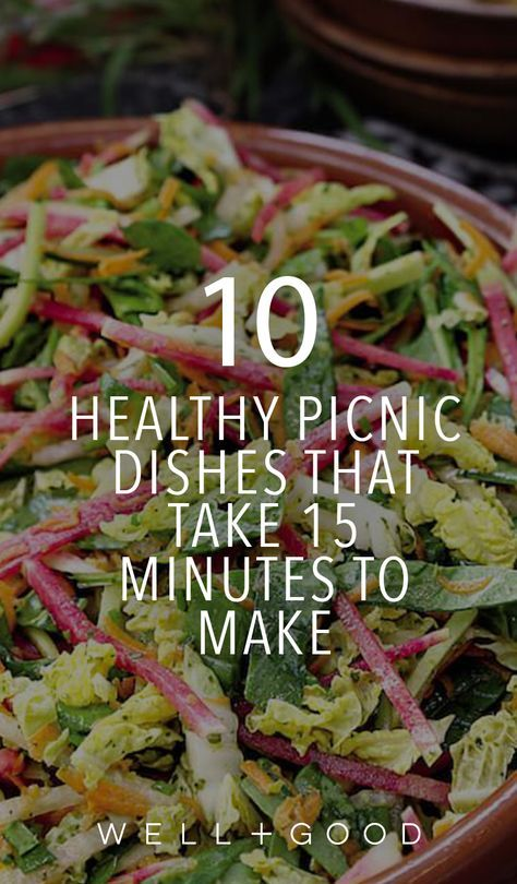 10 picnic meals to make in under 15 minutes
