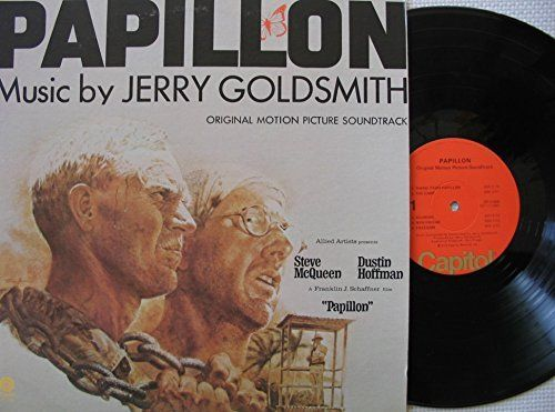 Buying Choices Papillon Motion Picture Score L P Soundtrack Jerry Goldsmith Best Old Songs