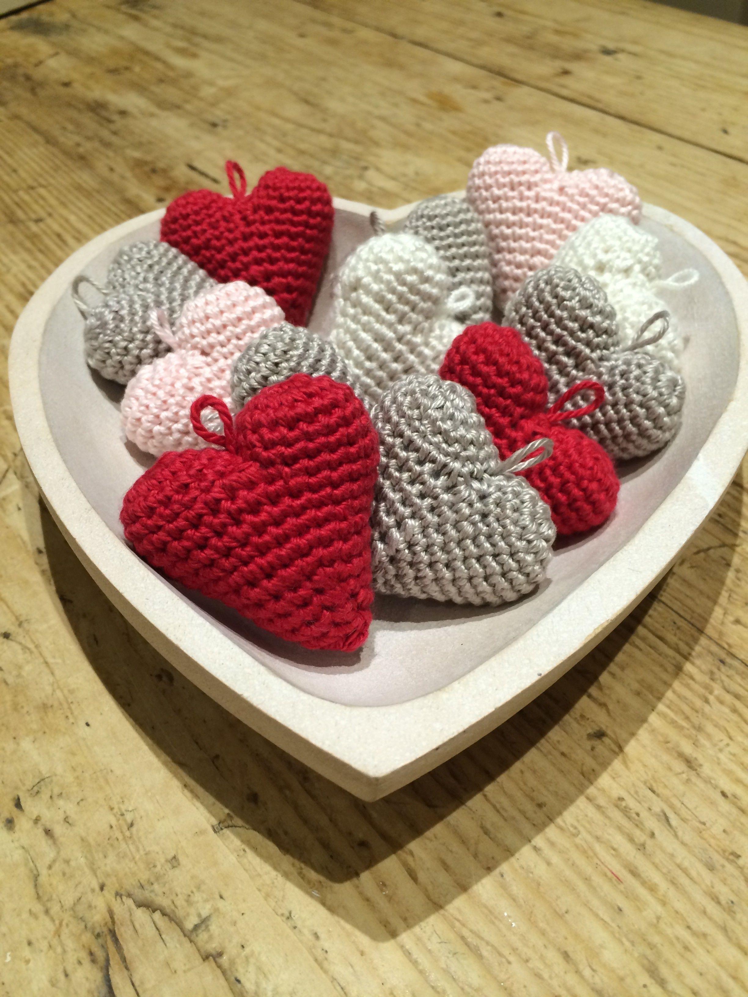 Crochet With Kate Little Hearts Pinterest Free Crochet Crochet