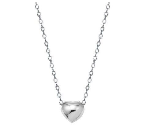 9e7665fba2986 Pin by Christina Fry on Jewelry | Sterling silver heart necklace ...