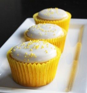 Lemon cake mix (I use Duncan Hine's Lemon Supreme)    1 can of Diet 7up--  2 egg whites*    Mix all ingredients together in a large bowl. Bake according to the directions on the cake box.    *Egg whites are actually optional, I don't use them.  These are wonderful!!!!