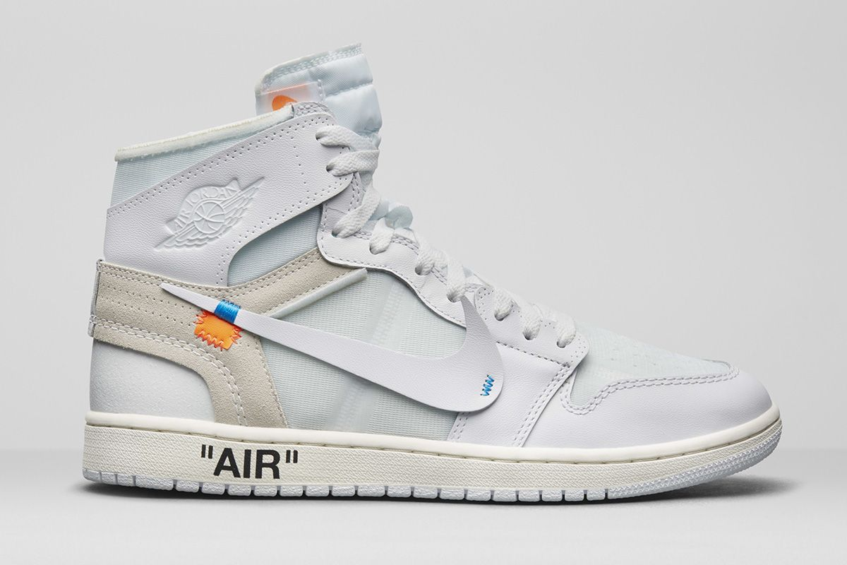 off-white x air jordan 1 white prix