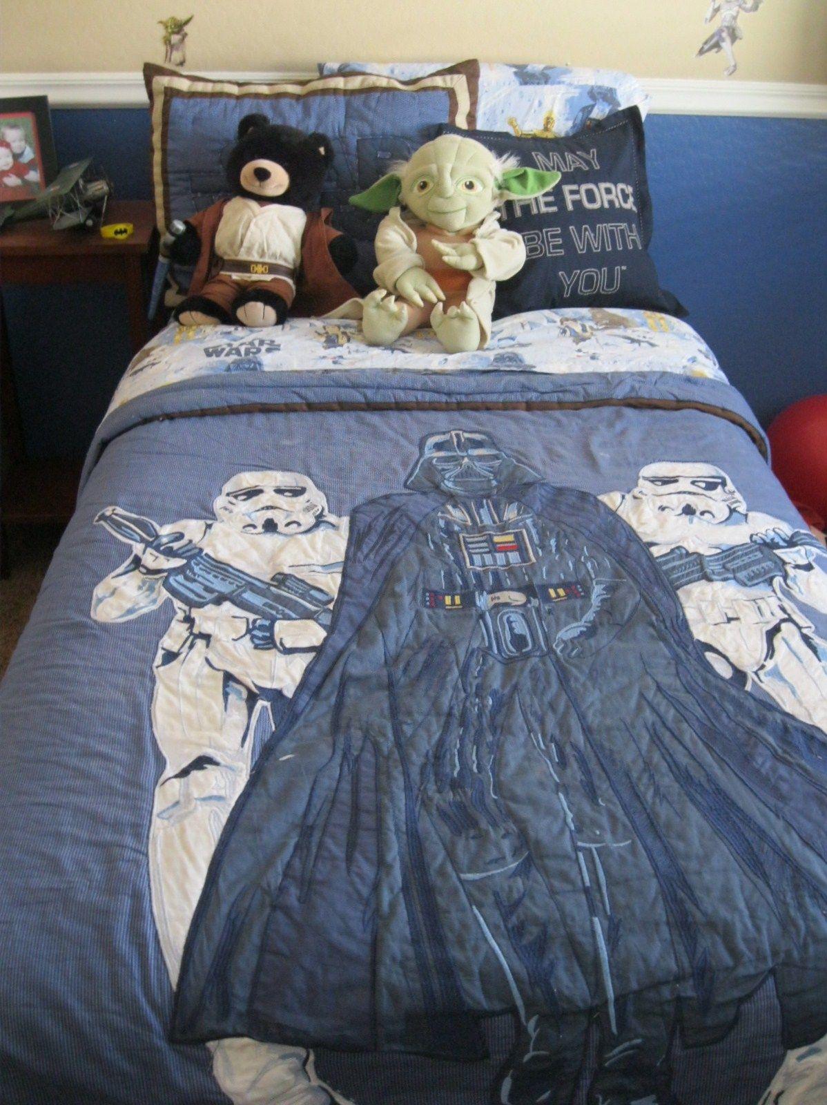 Talmage S Star Wars Room Pb Kids Bedding Build A Bear