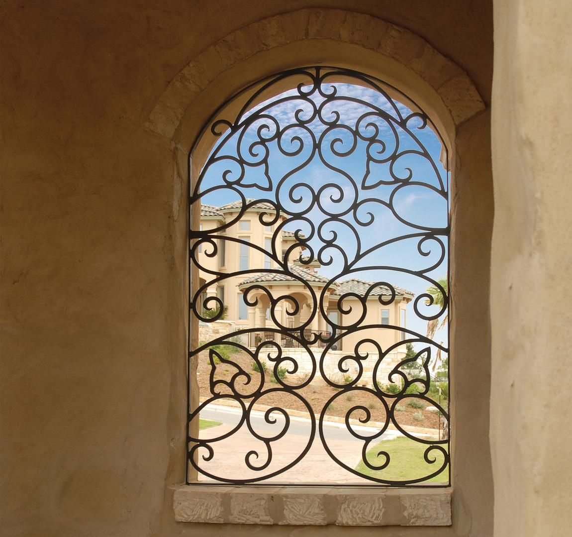 Wrought Iron Window Insert Home Pinterest Wrought