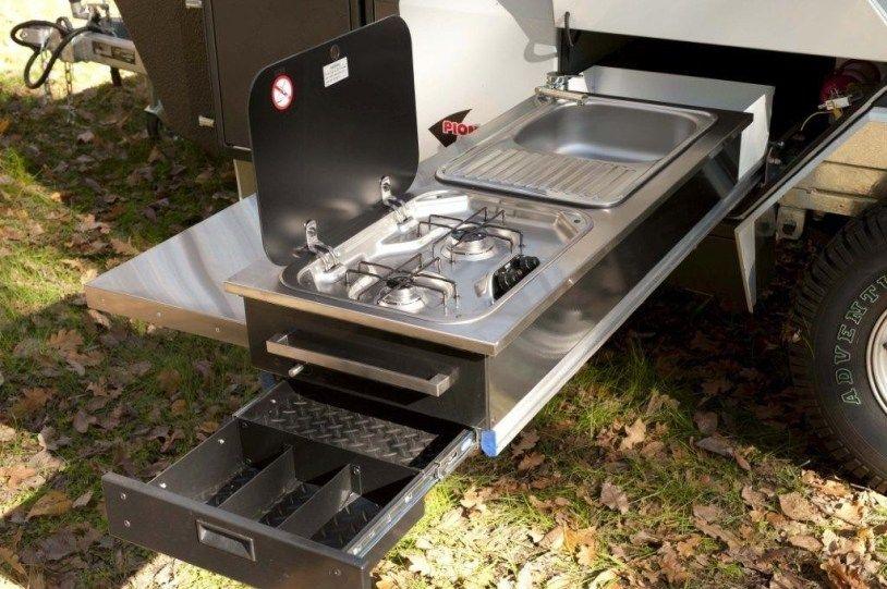 20 creative pull out camper kitchen inspirations camper