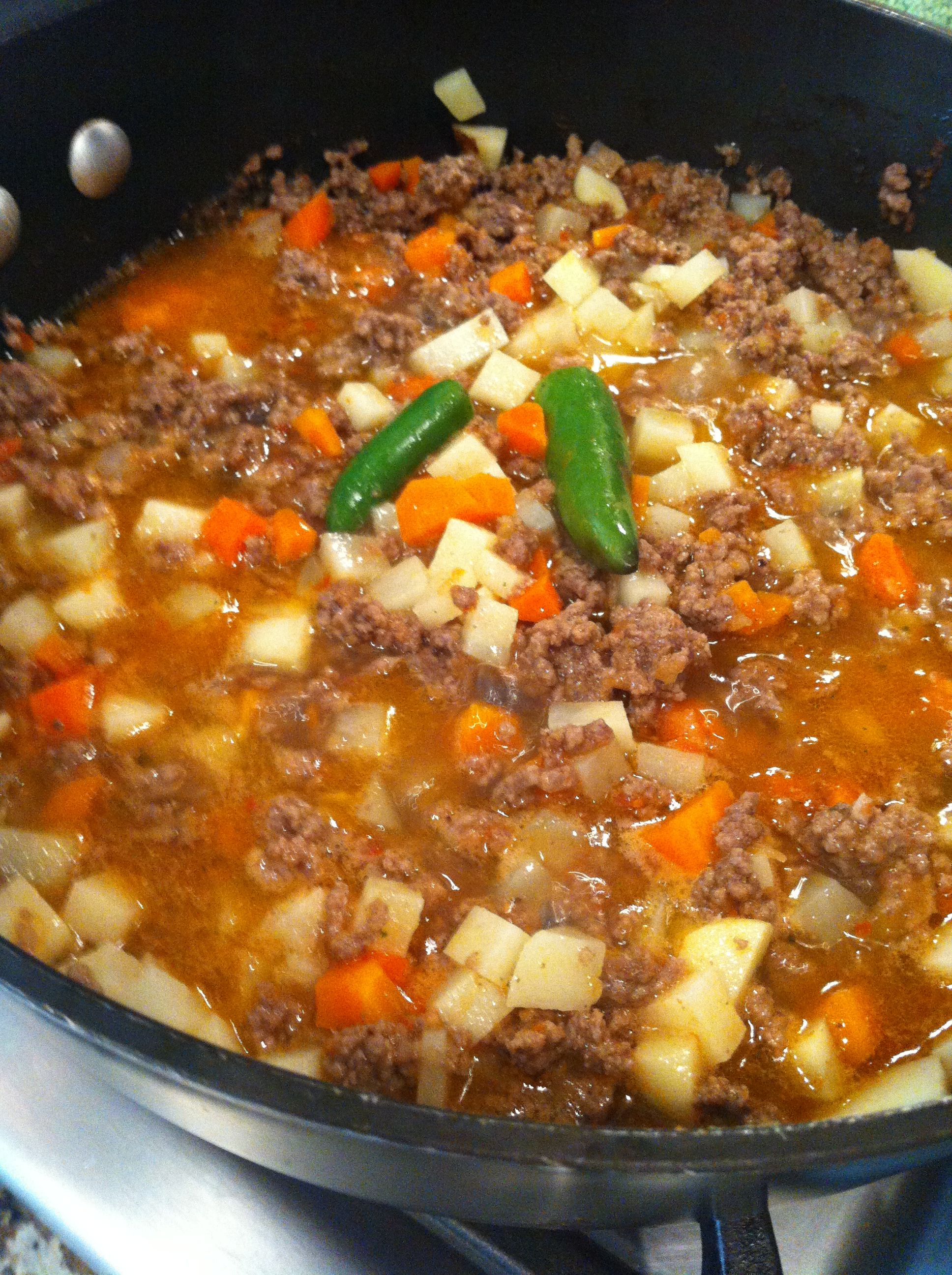 Mom made this she called it spice meat picadillo mexican mom made this she called it spice meat picadillo mexican comfort forumfinder Image collections