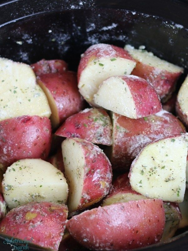 Slow Cooker Ranch Roasted Potatoes Recipe