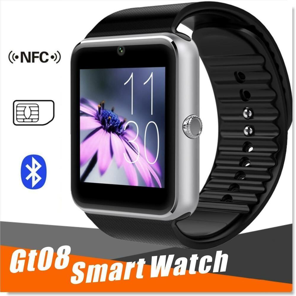 Bluetooth Smart Watch Phone Wrist Watch GT08 For Samsung