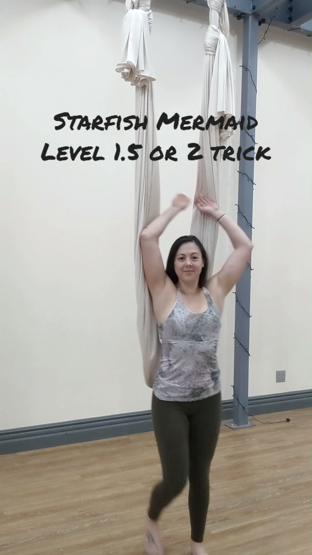 Aerial Yoga Tricks! Learn how to do and teach aerial tricks for your level 2 students. Learn how to do proper progressions, what to drill out, and how to know if your student is ready for a trick. Perfect for aerial yoga instructors that are interested in breaking out into more complex sequences for their students. See full video on my Patreon!