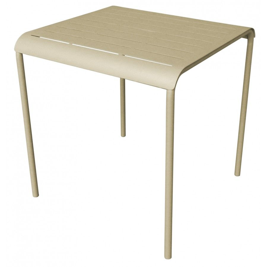 Table Carree Merenn Muscade Inventiv Chez Mr Bricolage Table Carree Decoration Maison Table