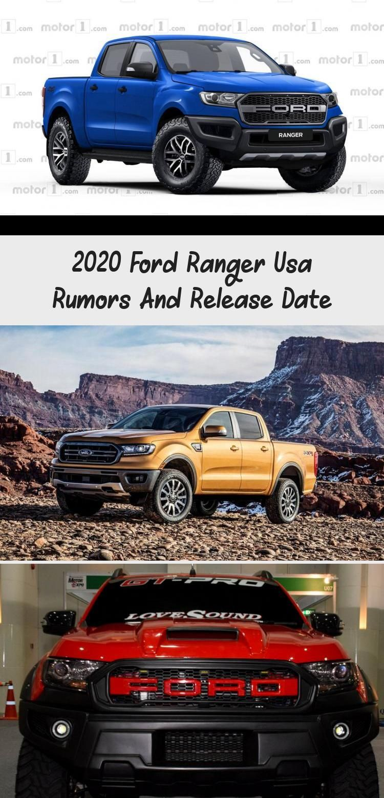 2020 Ford Ranger Usa Rumors And Release Date In 2020 Ford Ranger
